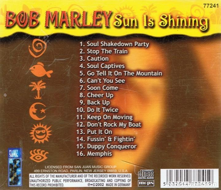 CDs de Música: BOB MARLEY ¨SUN IS SHINING¨ CD 1 - Foto 2 - 105647551