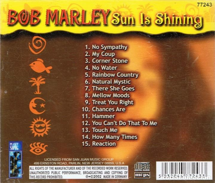 CDs de Música: BOB MARLEY ¨SUN IS SHINING¨CD 3 - Foto 2 - 105647731