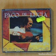 CDs de Música: PACO DE LUCIA - ANTOLOGIA - 2 CD. Lote 105668152