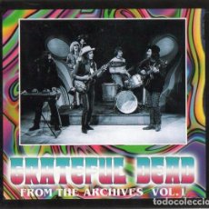 CDs de Música: THE GRATEFUL DEAD - FROM THE ARCHIVES VOL.1 - CD DIGIPACK. UNOFFICIAL RELEASE . Lote 105682927