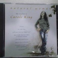CDs de Música: CAROLE KING NATURAL WOMAN 2000 SONY. Lote 105807115