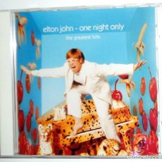 CDs de Música: CD - ELTON JOHN - ONE NIGHT ONLY - THE GREATEST HITS - GRANDES EXITOS - MERCURY RECORDS 2000. Lote 105809115