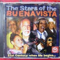 CDs de Música: THE STARS OF THE BUENAVISTA.COMPAY SEGUNDO-IBRAHIM FERRER-PIO LEYVA-OMARA PORTUONDO Y MAS. Lote 105810607