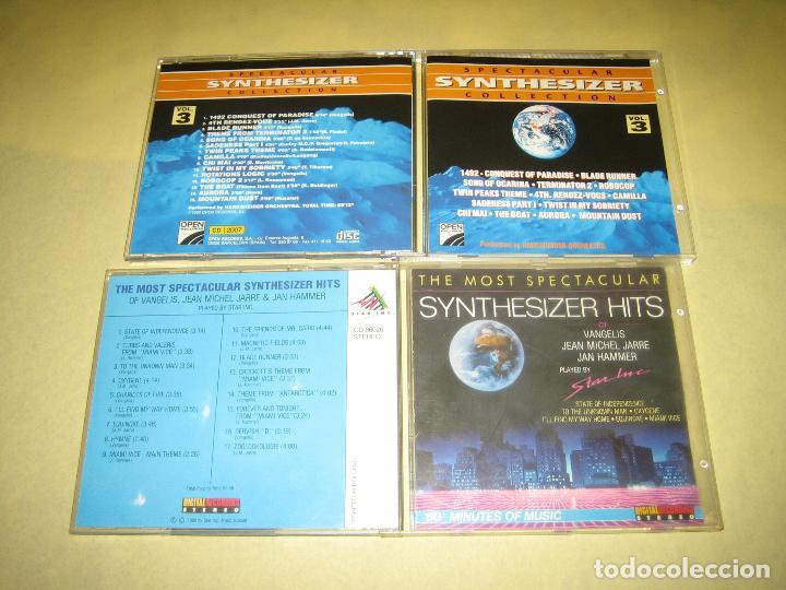 LOTE DE DOS CDS SYNTHESIZER HITS (Música - CD's Otros Estilos)