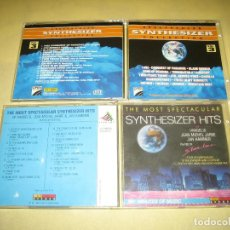 CDs de Música: LOTE DE DOS CDS SYNTHESIZER HITS . Lote 105852431