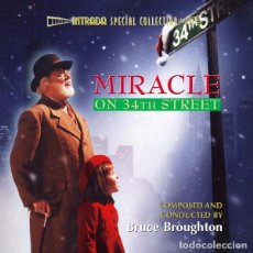CDs de Música: MIRACLE ON 34TH STREET -SCORE- / BRUCE BROUGHTON CD BSO - INTRADA. Lote 105858359