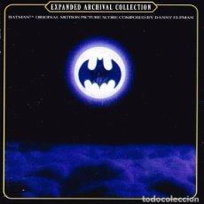 CDs de Música: BATMAN / DANNY ELFMAN 2CD BSO - EXPANDED. Lote 105859603