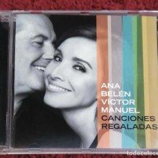 CDs de Música: ANA BELEN Y VICTOR MANUEL (CANCIONES REGALADAS) CD 2015. Lote 105892499