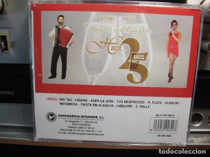 CDs de Música: MANOLO PEÑA & MERCEDES BEN SALAH ESTAMOS CELEBRANDO HACE 25 AÑOS ASTURIAS SFA - Foto 2 - 105893371