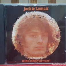 CDs de Música: JACKIE LOMAX- IS THIS WHAT YOU WANT- GEORGE HARRISON -BEATLES - CD - UK-SELLO APPLE - PAUL MCCARTNEY. Lote 105937219