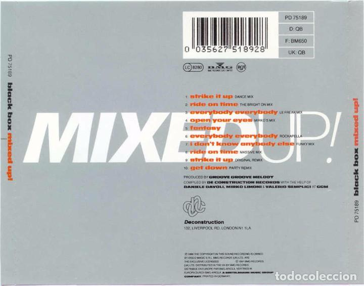 CDs de Música: BLACK BOX / MIXED UP! - Foto 2 - 105942827