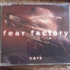 CDs de Música: FEAR FACTORY , CARS , CD SINGLE BUEN ESTADO. Lote 105972611