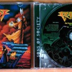 CDs de Música: RIOT - SONS OF SOCIETY - 3984-14249-2. Lote 105986115