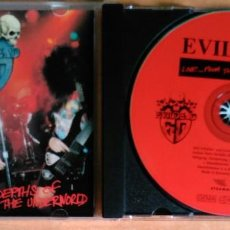 CDs de Música: EVILDEAD - LIVE...FROM THE DEPTHS OF THE UNDERWORLD - 077-76572. Lote 105986411