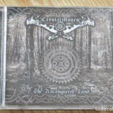CDs de Música: CD CRYSTAL MOORS CRYSTALMOORS THE UNCONQUERED LAND AÑO 2003 CELTIC PAGAN BLACK METAL SANTANDER. Lote 106004967