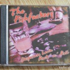 CDs de Música: CD THE FISHFUCKERS DESPERATE LOVIN´ ROCK ´N´ ROLL AÑO 2007 VIGO . Lote 106007019