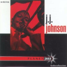 CDs de Música: J J JOHNSON / PLANET JAZZ. Lote 106016467