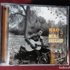 CDs de Música: MERLE HAGGARD – HAG: THE BEST OF...(CD. CAPITOL.2006) SIMILAR:JOHNNY CASH,WILLIE NELSON.... Lote 106063071