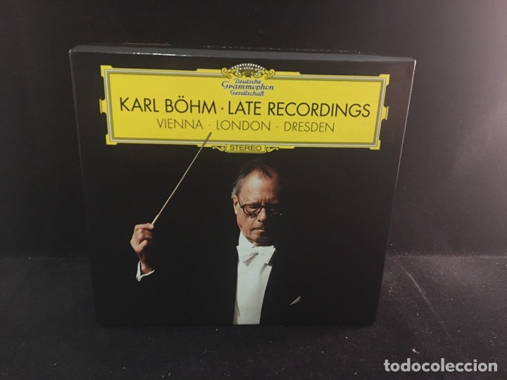 KARL BOHM - LATE RECORDINGS 23 CD'S BOX - DEUTSCHE GRAMMOPHON (Música - CD's Clásica, Ópera, Zarzuela y Marchas)