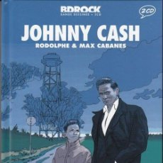 CDs de Música: BD ROCK * JOHNNY CASH * LIBRO TAPAS DURAS + 2 CD + COMIC* BOOK PRECINTADO!!. Lote 153435642