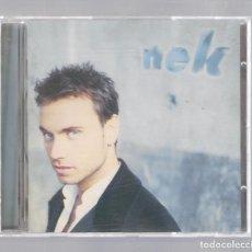 CDs de Música: NEK - NEK (CD 1997, WEA 0630 195562). Lote 106089427