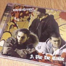 CDs de Música: MALAFAMA SQUAD / A PIE DE CALLE - CD / MALAFAMA - 16 TEMAS + PORNUS TRACK / BUENA CALIDAD.. Lote 106091679