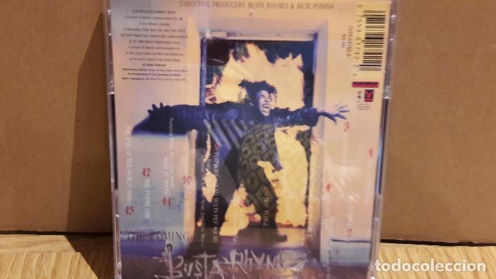 CDs de Música: BUSTA RHYMES / THE COMING - CD / ELEKTRA. 13 TEMAS / BUENA CALIDAD. - Foto 3 - 106092115