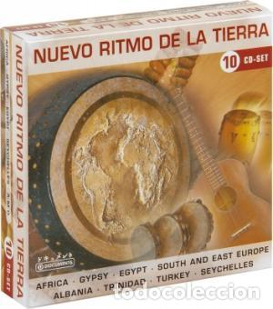 NUEVO RITMO DE LA TIERRA * BOX SET 10 CD * CAJA PRECINTADA * RARE * SONIDO ESPECTACULAR! (Música - CD's World Music)