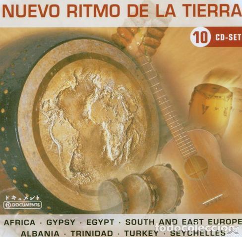 CDs de Música: NUEVO RITMO DE LA TIERRA * BOX SET 10 CD * CAJA PRECINTADA * RARE * Sonido espectacular! - Foto 2 - 106107671