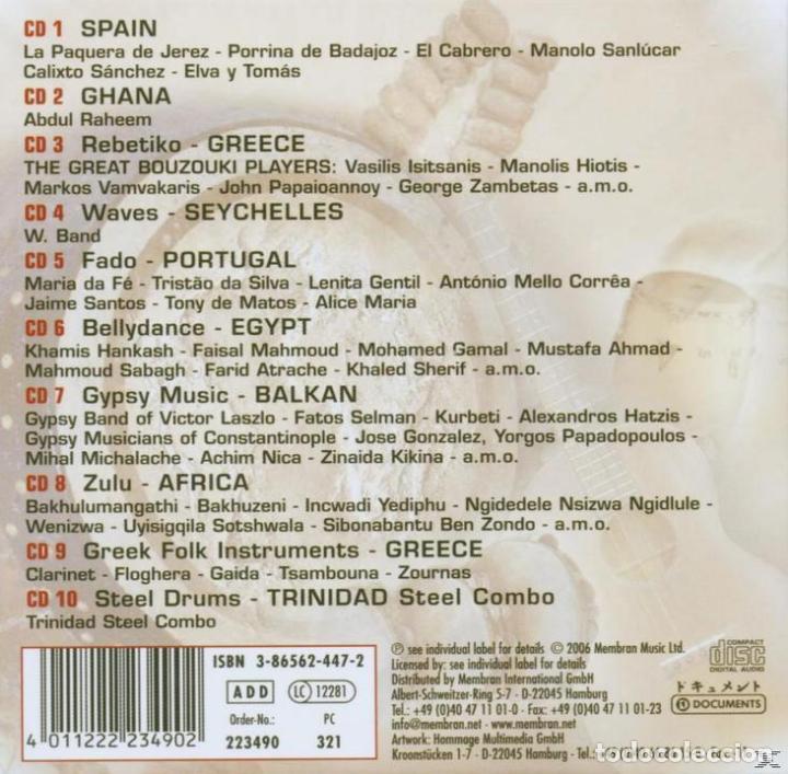 CDs de Música: NUEVO RITMO DE LA TIERRA * BOX SET 10 CD * CAJA PRECINTADA * RARE * Sonido espectacular! - Foto 3 - 106107671