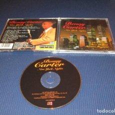 CDs de Música: BENNY CARTER ( NEW YORK NIGHTS ) - CD - 01612-65154-2 - MUSICMASTERS JAZZ. Lote 106197643