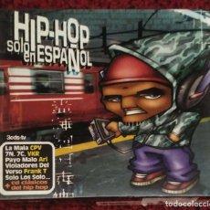 CDs de Música: HIP-HOP SOLO EN ESPAÑOL - 3 CD'S 2001 (VIOLADORES DEL VERSO, SFDK, ARI, 7 NOTAS 7 COLORES...). Lote 106223339