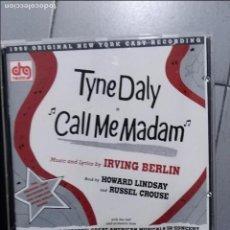 CD de Música: CALL ME MADAM BROADWAY CONCERT CAST. Lote 106566599