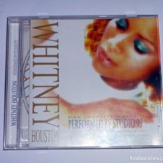 CDs de Música: CD. WHITNEY HOUSTON HER GREATEST SONGS. PERFORMED BY STUDIO 99. Lote 106570919