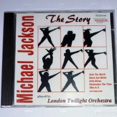 CDs de Música: CD. THE STORY MICHAEL JACKSON II. PLAYED BY LONDON TWILIGHT ORCHESTRA. Lote 106571123