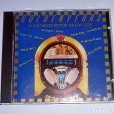 CDs de Música: CD. GOLDEN YEARS. 16 GRANDES EXITOS DE LOS 60-70. Lote 106571523