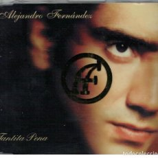 CDs de Música: ALEJANDRO FERNANDEZ-CD SINGLE TANTITA PENA. Lote 106575915