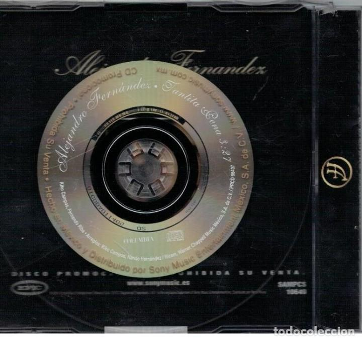 CDs de Música: ALEJANDRO FERNANDEZ-CD SINGLE TANTITA PENA - Foto 2 - 106575915
