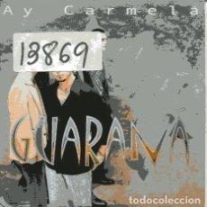 CDs de Música: GUARANA / AY CARMELA (CD SINGLE CARTON PROMO 2000). Lote 106577383