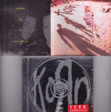CDs de Música: KORN, KORN , CD , 1994 SONY MUSIC. Lote 114914543