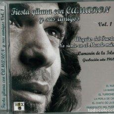 CDs de Música: FIESTA GITANA CON CAMARÓN Y SUS AMIGOS * CD * VOL. 1 * PRECINTADO. Lote 106591143