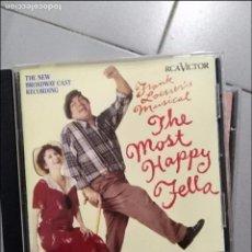CD de Música: THE MOST HAPPY FELLA . Lote 106591419