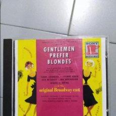 CD de Música: GENTLEMEN PREFER BLONDES . Lote 106593151