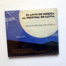 CDs de Música: 25 ANYS DE MÚSICA AL FESTIVAL DE LLÍVIA - SOMNIS D'UNES NITS D'ESTIU, DVORAK, SCHUBERT, MOZART, MONK. Lote 106616891