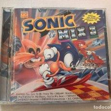 CDs de Música: 2 CD SONIX MIX 3, SEGA, MEGADRIVE, EGGMAN, DJ. Lote 106624751