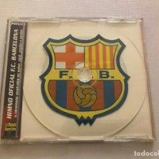 CDs de Música: CD HIMNO DEL FCB FUTBOL CLUB BARCELONA, BARÇA. Lote 116635308