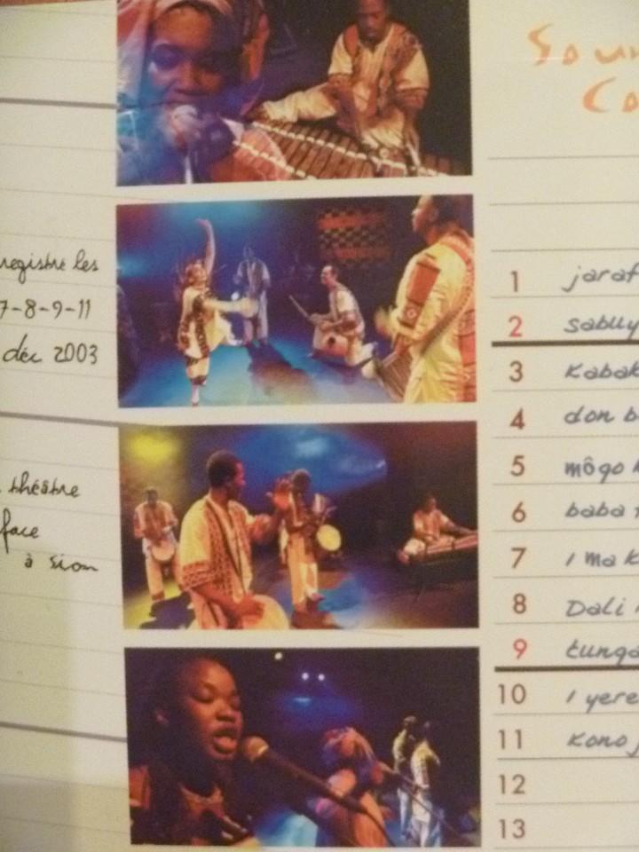 CDs de Música: SOUNGALO COULIBALYARION LIVE PARIS 2004 CD CON GUÍA PERCUSIÓN ÁFRICA - Foto 4 - 106658387