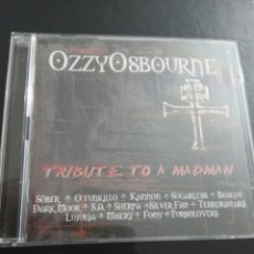 CDs de Música: HOMENAJE A OZZY OSBOURNE / CD TRIBUTE TO A MADMAN / DVD. Lote 106691547