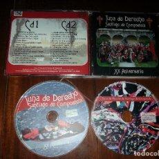 CDs de Música: CD DOBLE TUNA DE LA FACULTAD DE DERECHO SANTIAGO DE COMPOSTELA XX ANIVERSARIO 2007 TUNOS. Lote 106717607