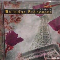 CDs de Música: CD. BALADAS FRANCESAS - VOL 3 . ADAMO. Lote 106726439